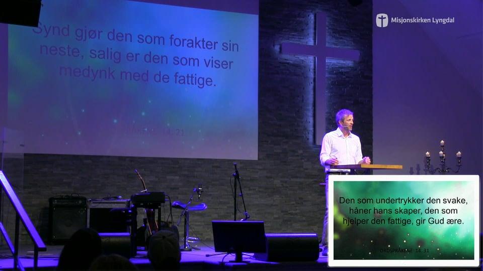 «Å gi det videre er en livsstil» av pastor Jim L. Foss