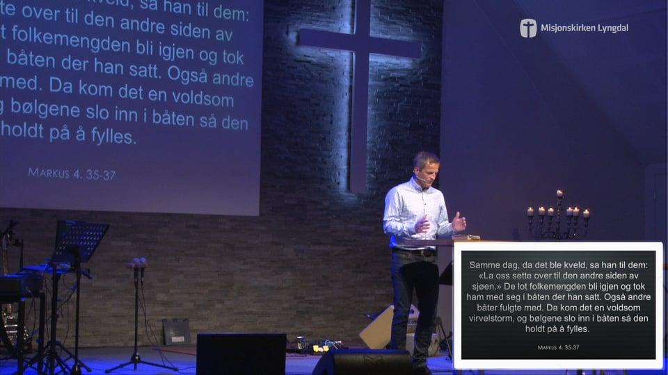 «Det store spørsmålet» Del 1 Av Pastor Jim Foss