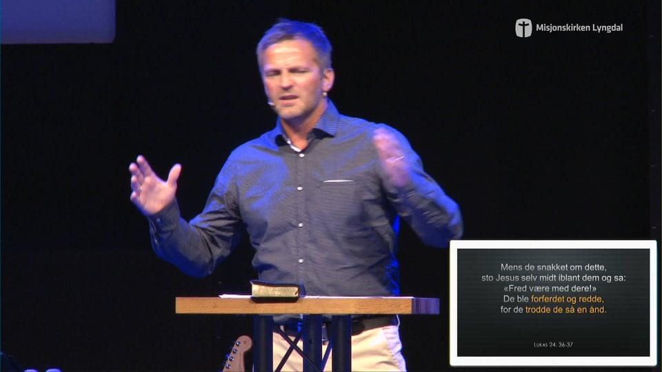 Det store Spørsmålet Del 2 Av Pastor Jim Foss