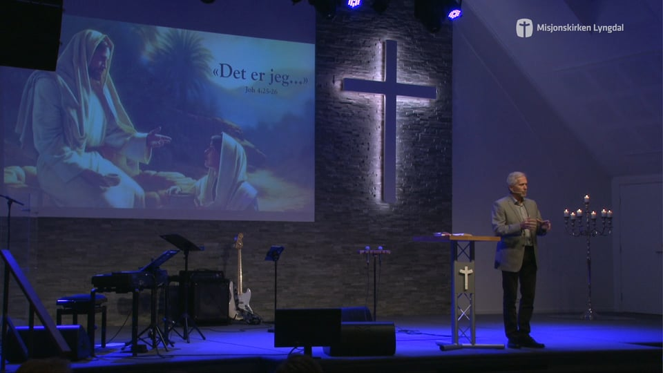 «Jeg er …» av Pastor Eilif Tveit