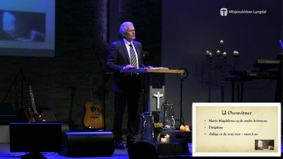 «Jesus er oppstått» av Pastor Eilif Tveit