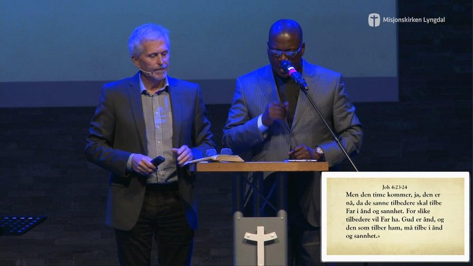 «Veien til Guds kjærlighet» Pastor Edouard Moukala