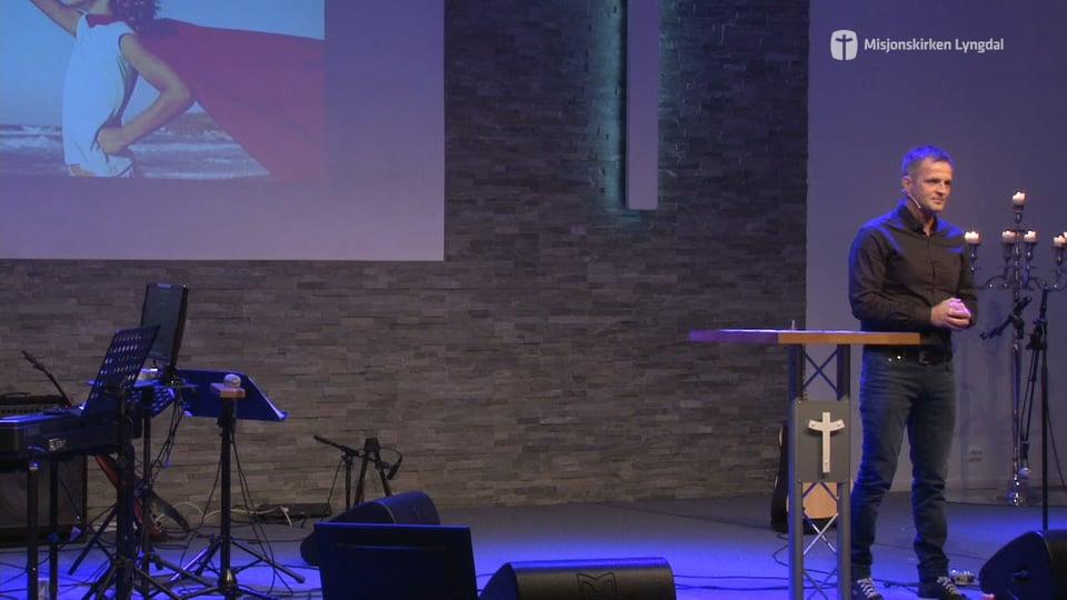 «Skapt for noe mer» Av Pastor Jim L.Foss