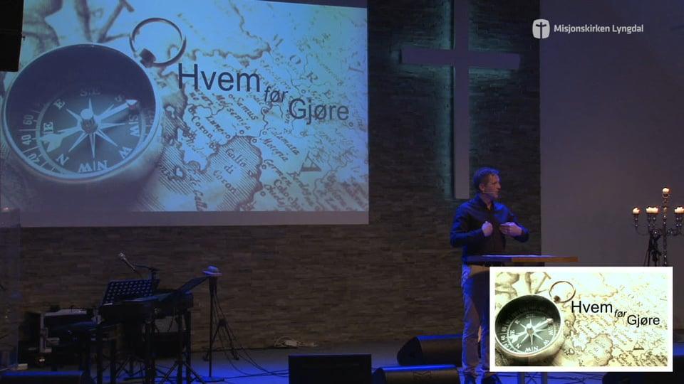 «Gud er mer interessert i hvem du er, enn hva du gjør» av Pastor Jim L. Foss