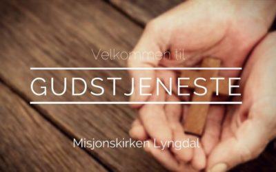 Velkommen til Gudstjeneste 25/11-18