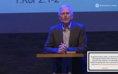 «Hvem er vi – Læren» del 2 av pastor Eilif Tveit