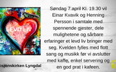 «Levd liv» søndag 7. april