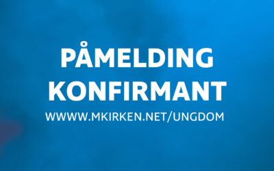 Påmelding konfirmant 2019/2020