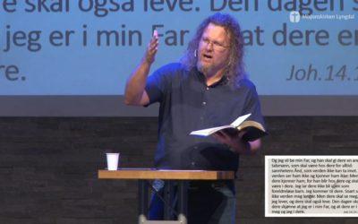 «Fotspor» av Tore Mersland Pastor i Porsgrunn Misjonskirke