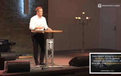«Kast ankeret dypt» av pastor Jim L. Foss