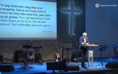 «Evangeliets kraft» av pastor Eilif Tveit