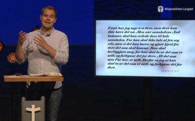 «Kristi himmelfart» av ungdomspastor Eirik Vikse