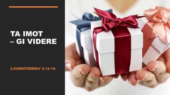 Connect opplegg til tale søndag 23. august