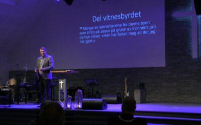 «Del vitnesbyrdet» av Pastor Sten Sørensen