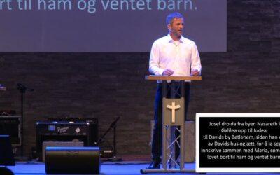 «Ønsker du å si oss noe» av Pastor Jim l. Foss