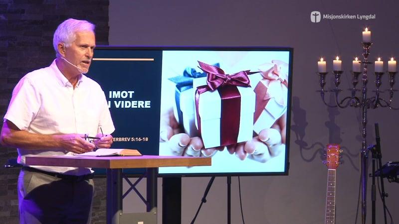 «Ta imot- Gi videre» av pastor Eilif Tveit