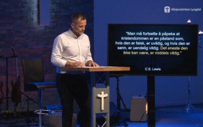 «Den ene» del 3 av pastor Jim L. Foss