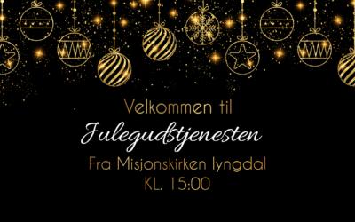 Se julegudstjenesten direkte