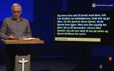 «Følge på veien» av pastor Eilif Tveit