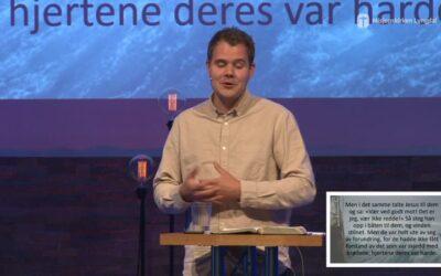 «Jesus går på vannet» av ungdomspastor Eirik Vikse