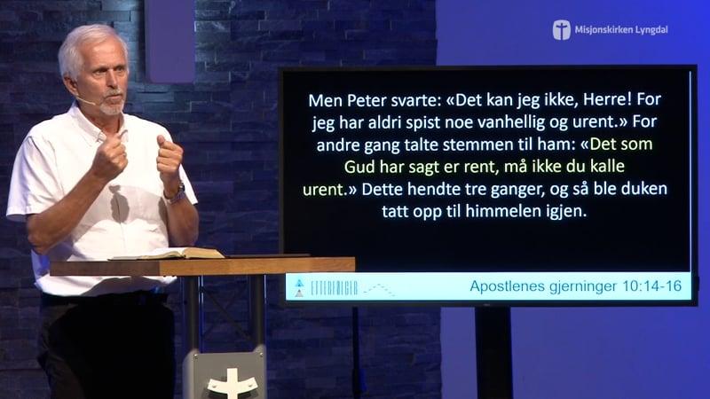 «Etterfølger» del 3 av pastor Eilif Tveit