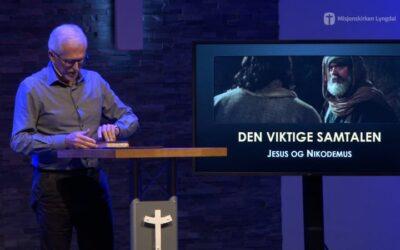 «Den viktige samtalen» av pastor Eilif Tveit